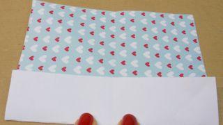 Marque-pages en forme de cœur - Étape 4