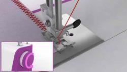 coudre des serviettes avec une machine à coudre - étape 7