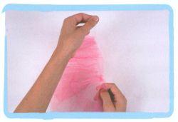 couture jupe à volants en tulle - étape 1