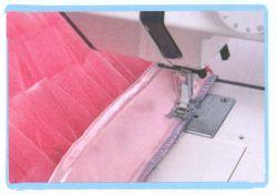 couture jupe à volants en tulle - étape 3