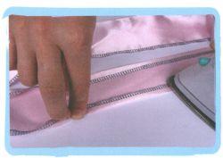 couture jupe à volants en tulle - étape 4