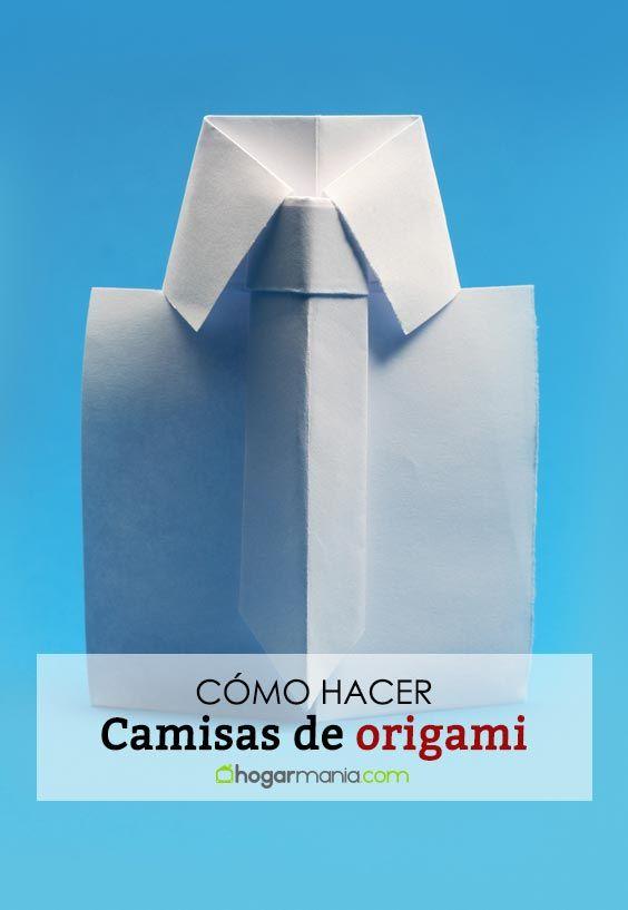 Comment faire des chemises en origami ou en origami