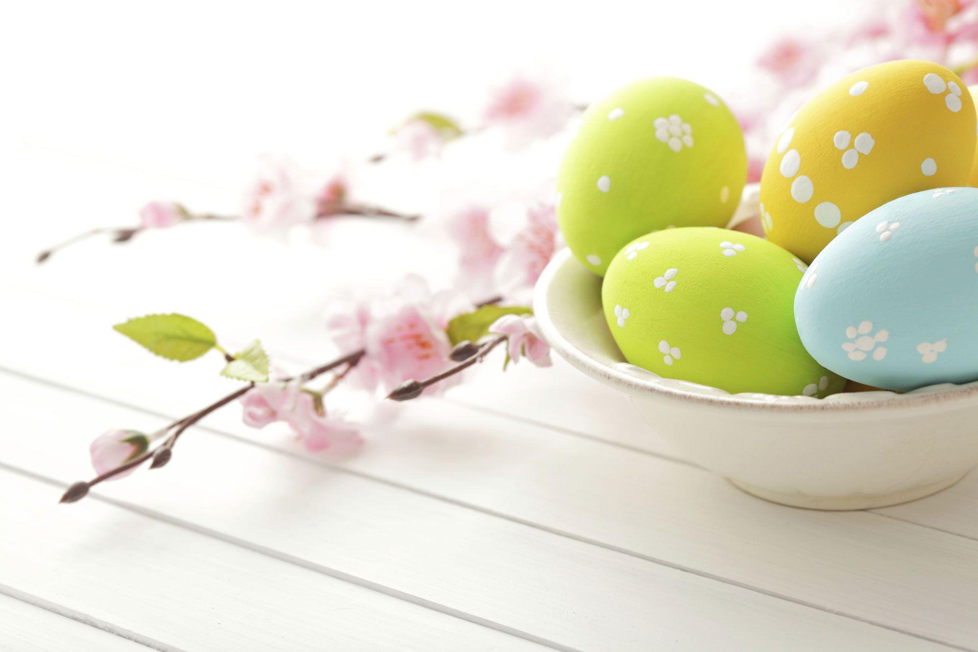Idées pour la décoration de Pâques