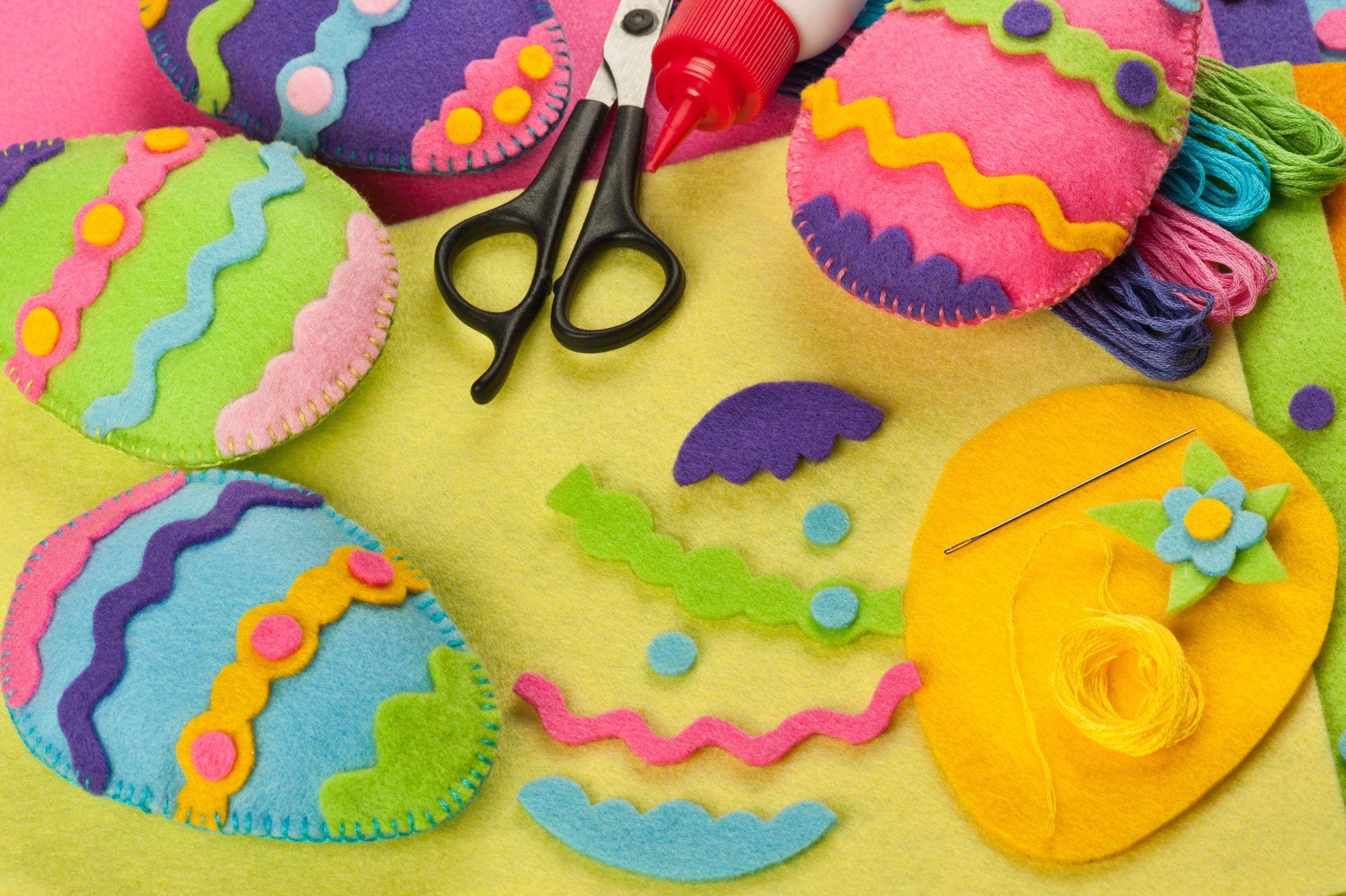 Artisanat pour la décoration de Pâques