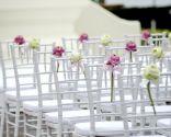 mariage de décoration de fleurs