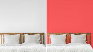 Envie d'une chambre relaxante et moderne?  N'utilisez pas ces couleurs pour peindre le mur
