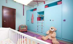 Chambre d'enfants joyeuse et amusante