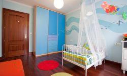 Chambre d'enfants avec saveur de mer
