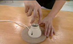 créer une lampe drapée - étape 10