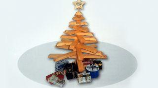 Faire un sapin de Noël en bois