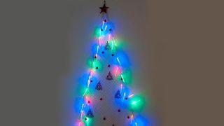 Sapin de Noël en maille