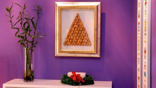 Sapin de Noël pour le mur
