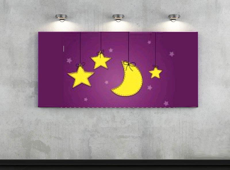 éclairage de la chambre des enfants-lumière focale