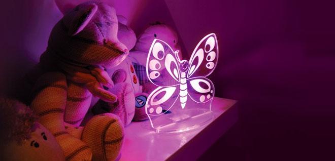 éclairage de la chambre des enfants - veilleuse LED