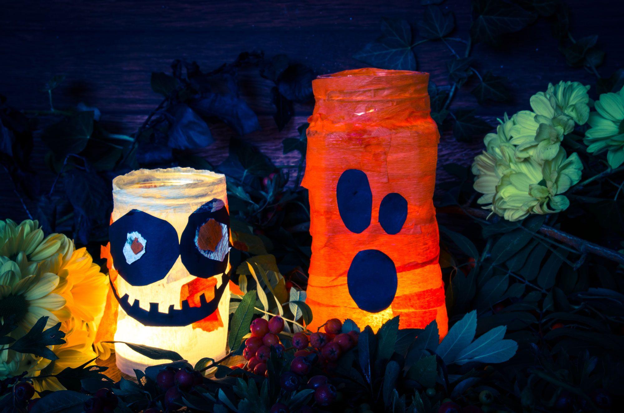 pots de momie pour halloweeen