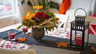 Centres de table d'automne