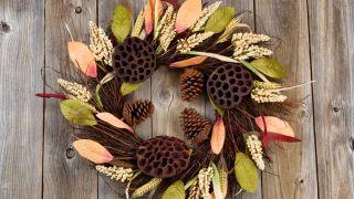 Couronnes d'automne à décorer