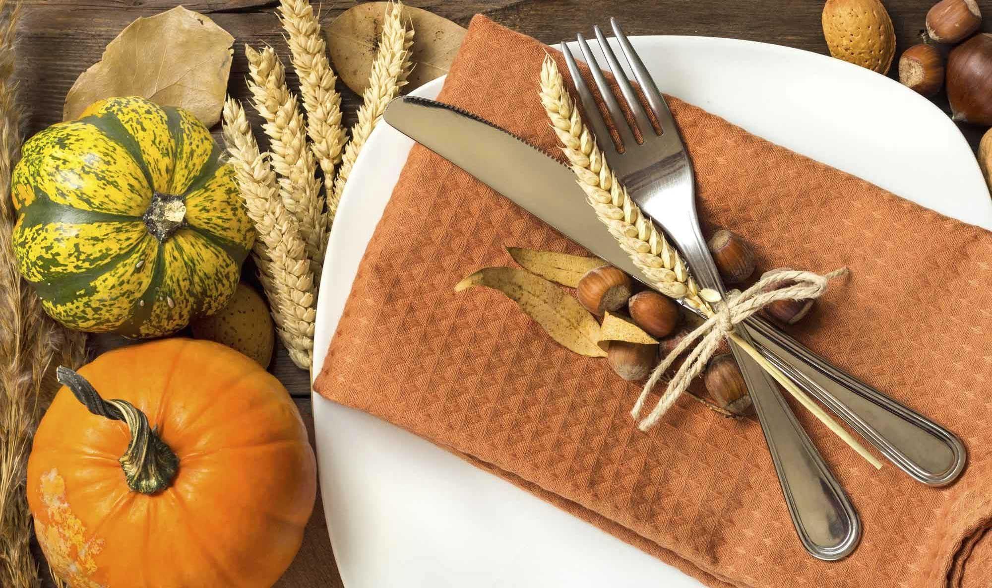 Décoration de table automne - Couleurs