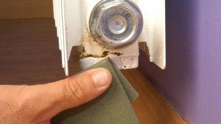 Réparer la fuite dans le radiateur