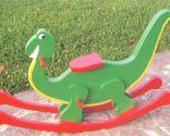 Bascule en forme de dinosaure