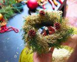 Comment faire une petite couronne de Noël