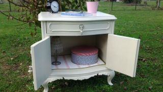 Table de chevet Shabby Chic
