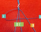 Étape 2 - Bracelet macramé facile