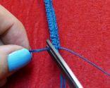 Étape 7 - Bracelet macramé facile