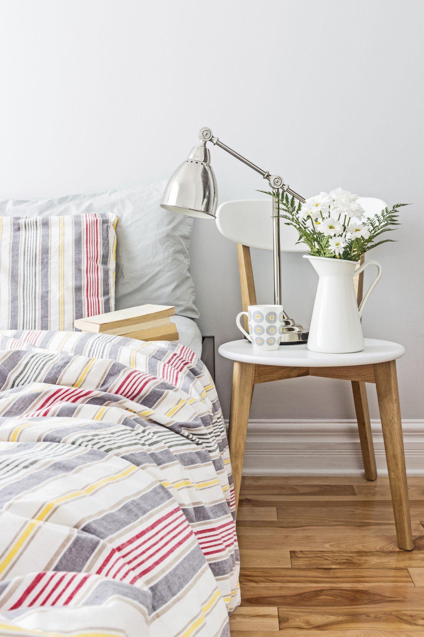 décorer la chambre de style nordique - chaises