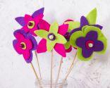 Idées pour faire des fleurs en feutre