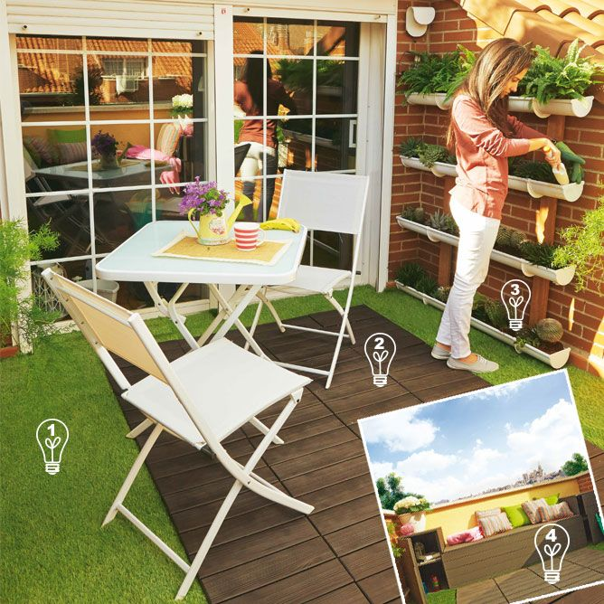 Idées pour décorer une terrasse de 8m2