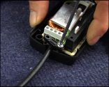 Changer le câble en lampe