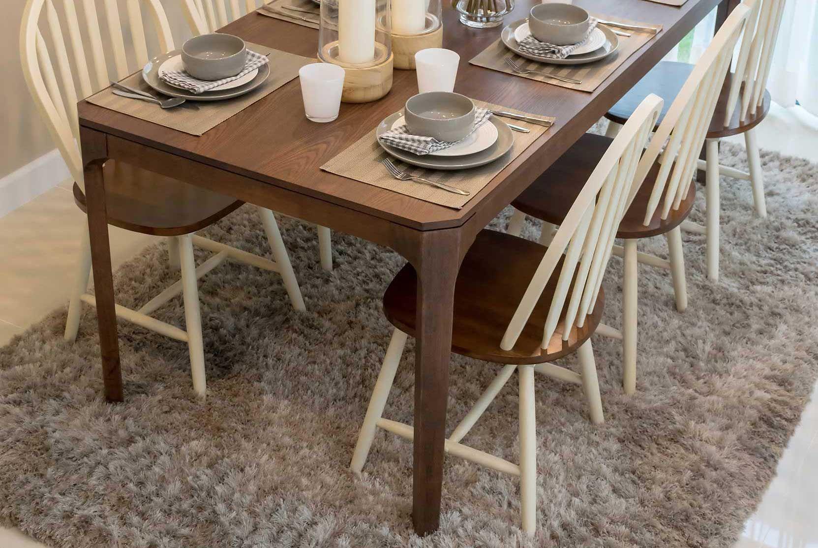 Décorer une table de style rustique