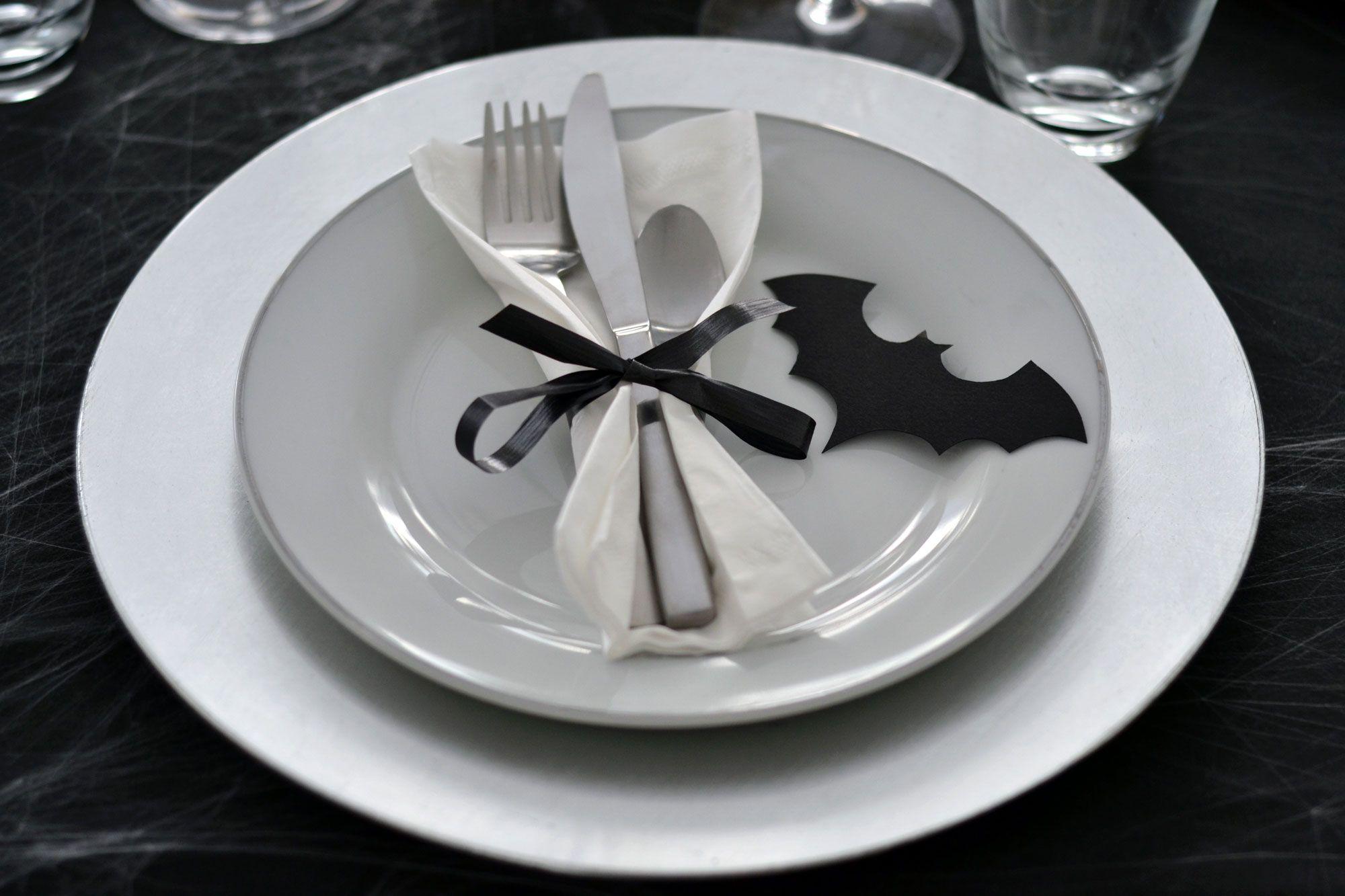 vaisselle halloween
