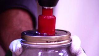 Comment faire des lampes avec des bocaux en verre - Étape 2