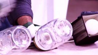 Comment faire des lampes avec des pots Mason - Étape 5