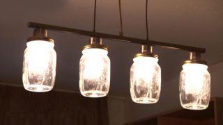 Comment faire des lampes avec des pots Mason - Étape 6
