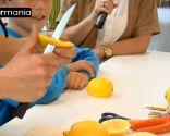 Décoration de fruits: Comment faire une souris avec un citron - Étape 2