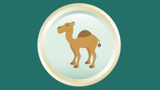 Dessous de verre Three Wise Men - camel