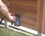 Construire une clôture pour le jardin - Comment appliquer le lasur