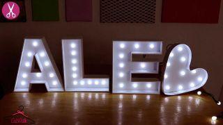 Comment faire des lettres en carton lumineuses - Étape 7