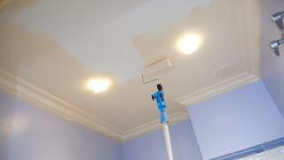 Peinture plafond de salle de bain