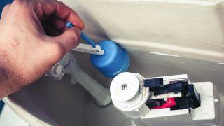 Réparer la fuite dans la citerne