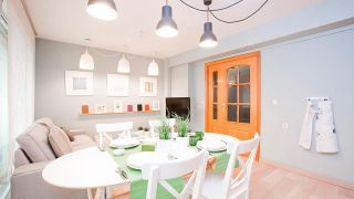 Idées pour décorer les cuisines ouvertes sur le salon: délimiter visuellement l'espace