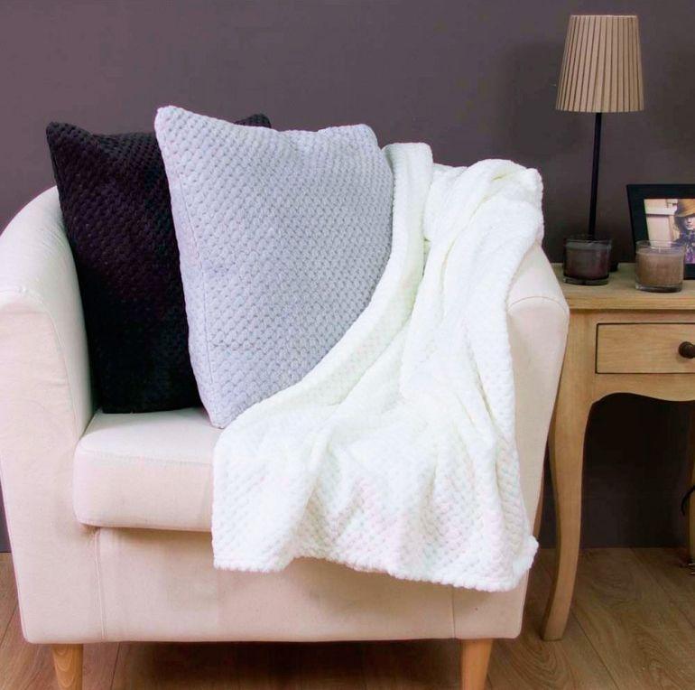 décorer la chambre de style nordique - couvertures