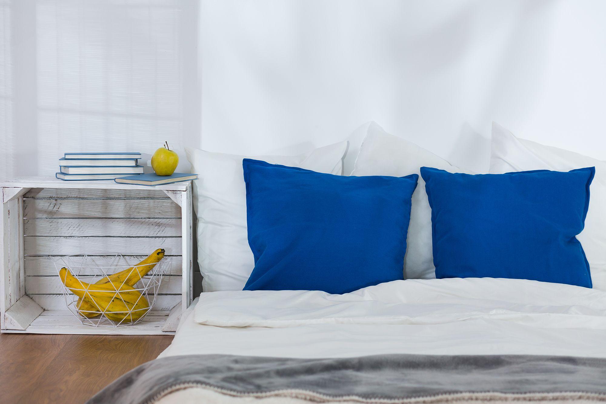 décorer la chambre à coucher boîtes de style nordique tables de chevet