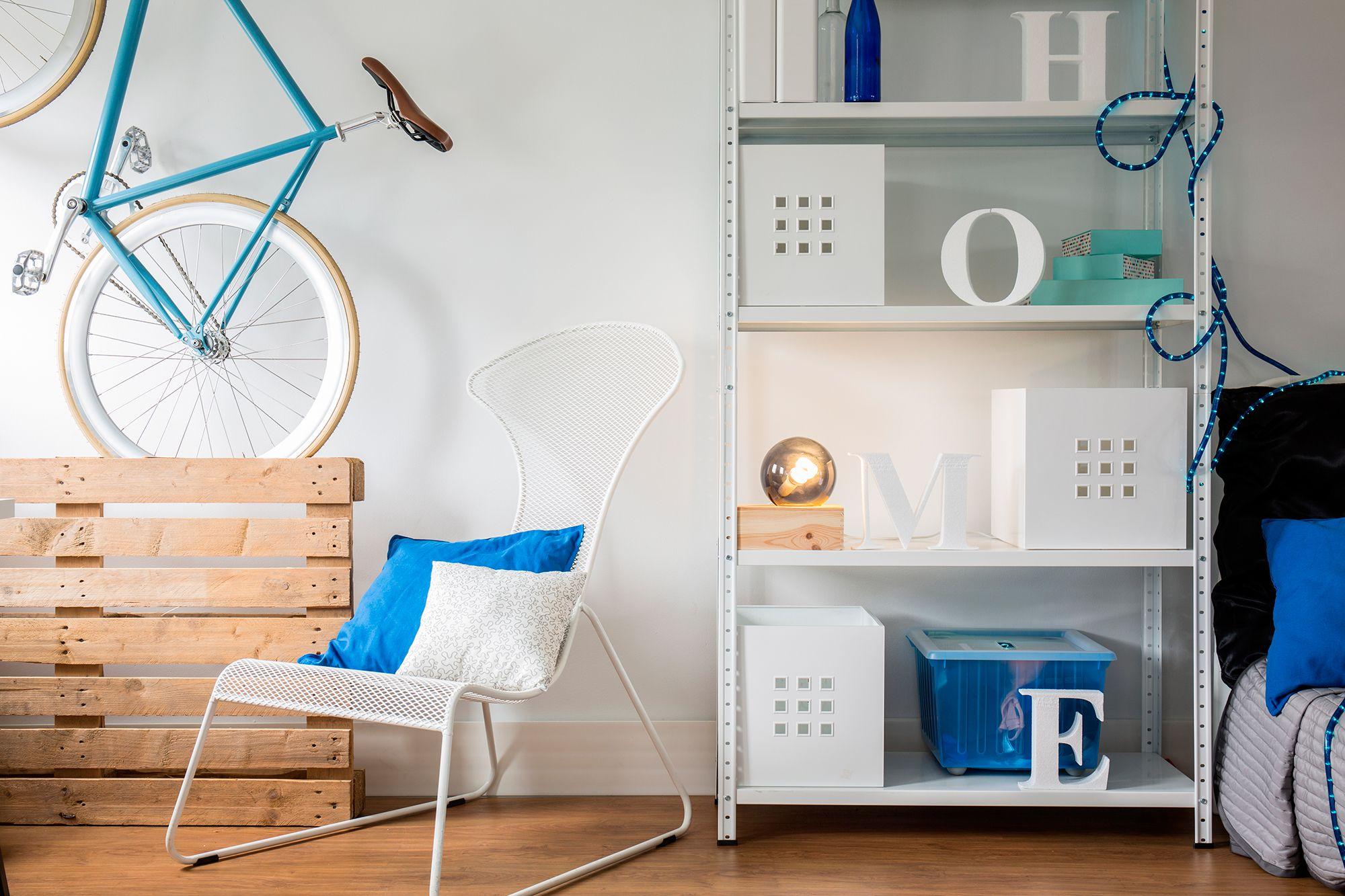 décorer la chambre de style nordique - palette