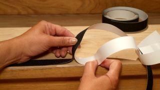 Réparer une échelle en bois