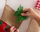 Porte-manteau pour placer les cadeaux de Noël - Étape 4