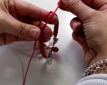 Fermeture des bracelets noeud macramé